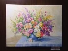 Original Gemälde von Elke Bagheri 60 x 80