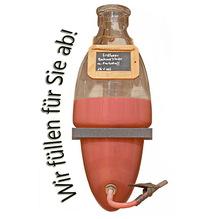 Laux 'Erdbeer Sahnelikör' 16% vol - mit Farbstoff, in verschiedenen Flaschenformen und Mengen!