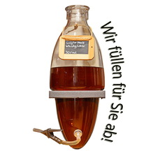 Laux 'Single Malt Whisky Likör' 30% vol, in verschiedenen Flaschenformen und Mengen!