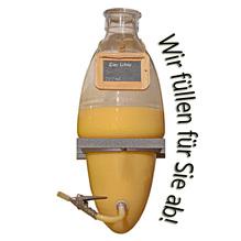 Laux 'Eierlikör' 20% vol, in verschiedenen Flaschenformen und Mengen!