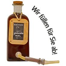 Laux 'Walnuss Öl' - geschmacksreich, in verschiedenen Flaschenformen und Mengen!