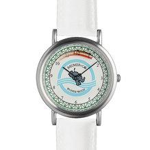 WupperWatch - Die Wuppertaluhr mit weißem Lederband