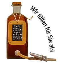 Laux 'Honig-Walnuss Aperitif-Essig' Obstessig aromatisiert 5 % Säure, in verschiedenen Flaschenformen und Mengen!