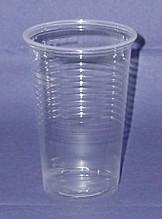 Kunststoff - Plastik Becher klar 200ml 100 Stück