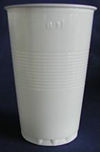 Kunststoff - Plastik Becher weiss 300ml 80 Stück Made in Europe