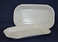 Pommesschale Pappschale 100 Stück 15x23x2cm