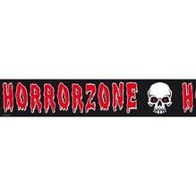 Absperrband Horrorzone schwarz-rot Halloween