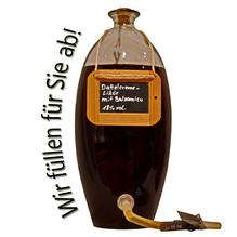 Laux 'Dattelcreme Likör' mit Balsamico 18 % vol, in verschiedenen Flaschenformen und Mengen!