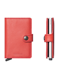 Secrid Credit Card Protector Mini Wallet coral crisple Kreditkartenbox MC-Coral