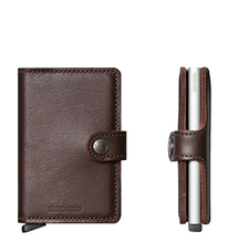 Secrid Credit Card Protector Mini Wallet Dark Brown Kreditkartenbox
