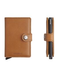 Secrid Credit Card Protector Mini Wallet Cognac black limited Kreditkartenbox ML-Cognac