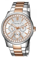 Esprit Damen Armbanduhr -tp10544 two tone rose gold- ES105442009
