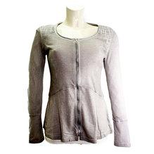 Simclan Damenjacke mit Reißverschluss light grey 2531-061