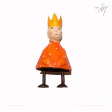 Figur König orange