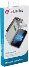 Buchklapptasche für Microsoft Lumia 950 schwarz
