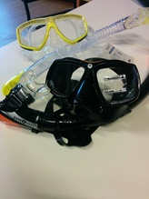 Aqualung Freefit Maske und Schnorchel
