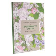 Zauberhafte Gärten - Ausmalbuch für Kinder und Erwachsene