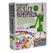 Recyclete Papierperlen Bastelset