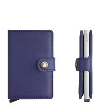 Secrid Credit Card Protector Mini Wallet Indigo Kreditkartenbox MO-Indigo