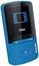 SA4VBE04BN (4GB) tragbarer Multimedia-Player blau