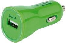 USB Kfz-Ladenetzteil 1000mA grün