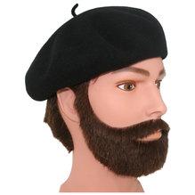 Kangol Barett Anglobasque Beret Baskenmütze schwarz