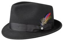 Stetson Trilby Woolfelt Hut von Stetson schwarz