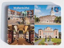 geprägter Metallmagnet - Wolfenbüttel
