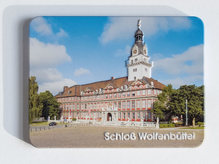 geprägter Metallmagnet - Schloss Wolfenbüttel