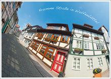 Postkarte WF Krumme Straße