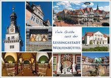 Postkarte WF Viele Grüße aus der Lessingstadt 2