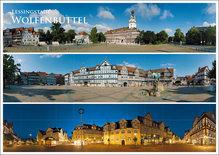 Postkarte WF drei Panoramen