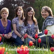 GUTSCHEIN: Familien-Fotoshooting 60 MIn. im Studio, Outdoor oder an einer Location ihrer Wahl mit 4 bearbeiteten Fotos + Poster