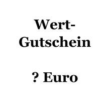 WERT-GUTSCHEIN für freie Wahl der Leistung
