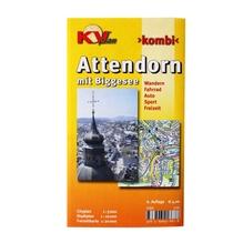 Stadtplan 'Attendorn mit Biggesee'