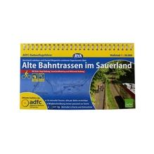Fahrradkarte 'Alte Bahntrassen im Sauerland'