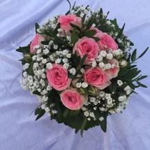 Blumen & Besonderes:Strauß mit mini Buschröschen