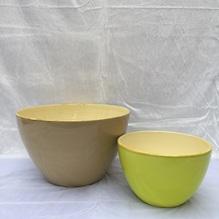Blumen & Besonderes:Keramik Salatschale gross