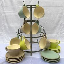 Blumen & Besonderes:Keramik Dessertteller