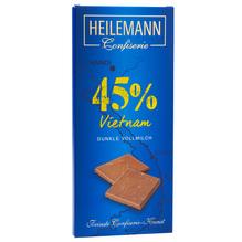 Heilemann 'Vietnam 45%' dunkle Vollmilch-Schkolade, 80g