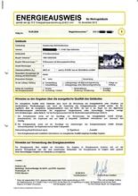 Energieausweis: Energiebedarfsausweis bis 4 Wohneinheiten