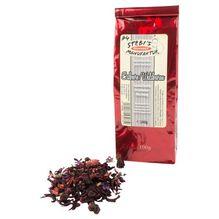 Erdbeere / Waldbeeren Tee - aromatisierte Früchteteemischung 100g - Stebi`s Feinkost Manufaktur Tee No.4