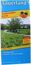 Radwanderkarte 'Sauerland'
