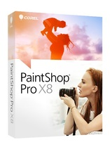 Corel PaintShop Pro X8 - Box-Pack - 1 Benutzer ( Mini-Box ) - Win - Deutsch