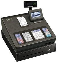 Sharp Registrierkasse XE-A177WH schwarz, Thermodruckwerk