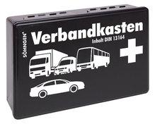 Söhngen KFZ-Verbandskasten schwarz KU mit Füllung Standard DIN 13164