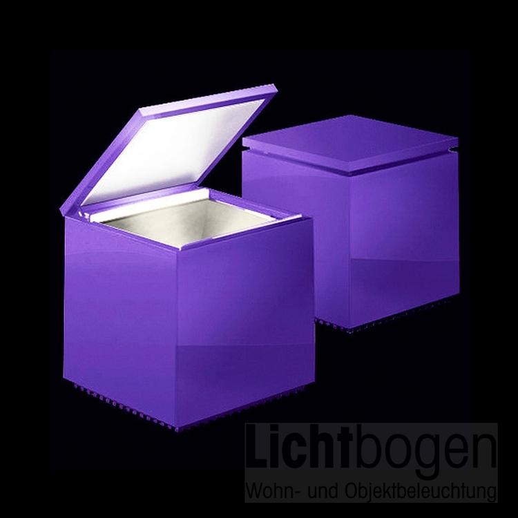 Cuboluce violett viola morado LED 141L - F. Bettonica/M. Melocchi@Cini & Nils Neu