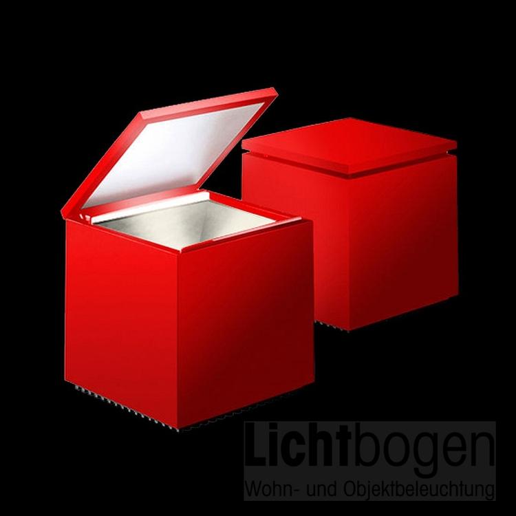 Cuboluce LED Rot Red Rosso 137L - Franco Bettonica/Mario Melocchi @ Cini & Nils