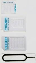 PEDEA SIM-Adapter