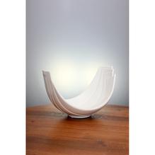Tiziano Schale Lavano L: 26 cm, creme